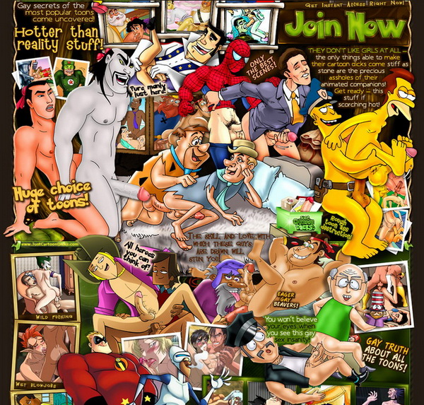 Just Cartoon Dicks Just Cartoon Dicks takes the seductiveness of gay porn to a brand new level ...