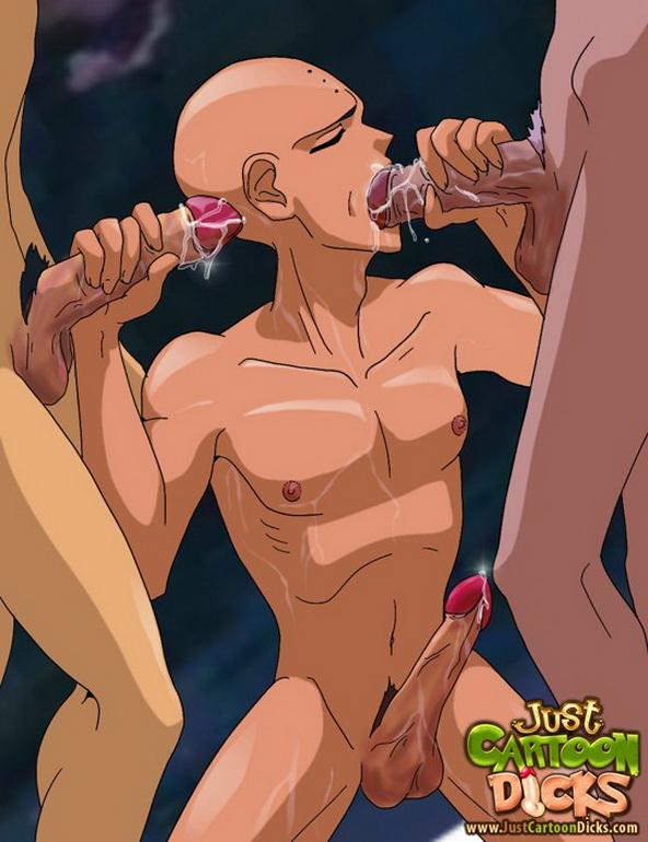 Just Cartoon Dicks Dragon Ball 2 Enter this gay cartoon porn gallery and enjoy!