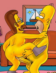 The Best Gay Toon Simpsons main site