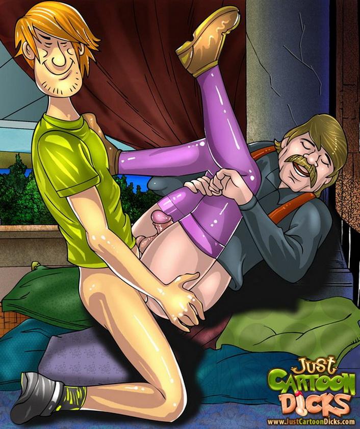 Scooby-Doo porn cartoon