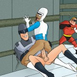 Mr. Incredible in unbridled gay orgy | Just Cartoon Dicks Superheroes gay