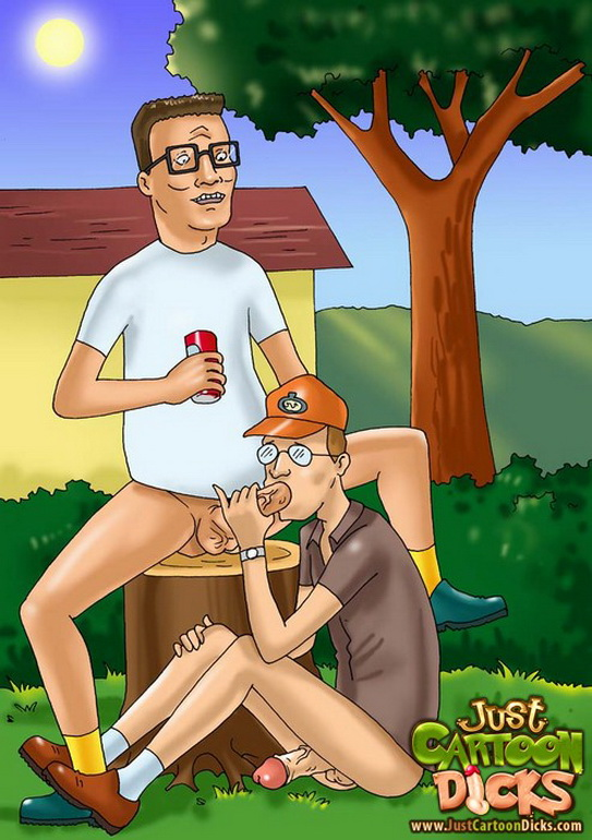 King of the Hill gay