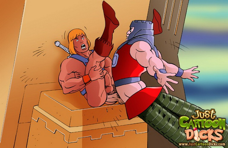 He-man gay sex