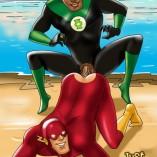 Queer Justice League | Just Cartoon Dicks Superheroes gay
