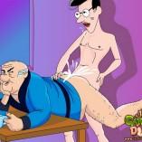 Old fat gay grandpa in sex toon Just Cartoon Dicks